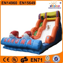 2015 giant used commercial inflatable slide for adult and kids