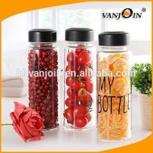 Korea Hot New Product Manufacturing BPA Free My Bottle Fruit Juice Glass Bottle,Fruit Infuser Water Bottle,Plastic Juice Bottle