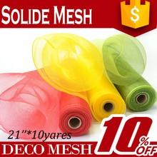China wholesale cheap plastic deco mesh net/netting