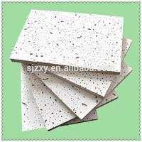 Low Density Suspended Mineral Fiber Ceiling Tiles