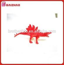 Hard Plastic Cartoon Animal Dinosaur Figures Set Toy Kid Children