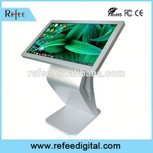 Desktop all in one high resolution All In One PC Touch, network signage player for shopping mall