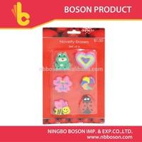 6 pcs eraser manufacturer