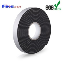 Black PVC Foam Tape