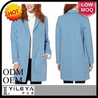 high fashion plus size korea winter women coat model