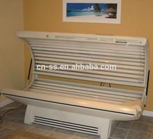 Home skin tanning machine use big power solarium tanning bed W4
