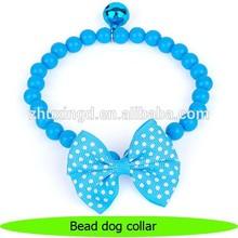 Adorable dog pearl collar for small pet dog