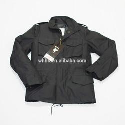 M65 alpha military army black warm jacket