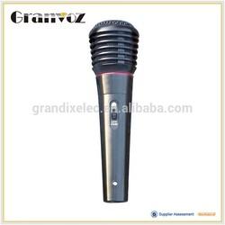 Plastic body 500 ohm condenser microphone, wireless microphone