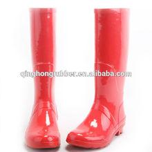 Fashion fancy camo PVC half rain boots