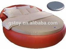 PVC circle side air bed water mattress bed furniture