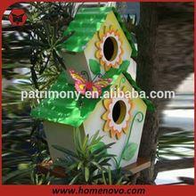 Two-tier hanging bird nest