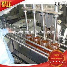 automatic mango chutney bottle filling machine