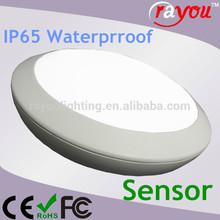 IP65 Ceiling mounted emergency light led, battery led emergency lighting lamp, 15w surface mounted led ceiling light