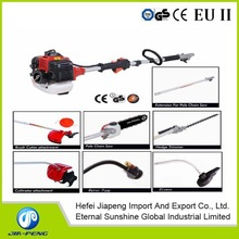 8 in1 Multi-function garden tools/grass trimmer/brush cutter/pole brush cutter/pole grass trimmer with CE ,GS standard