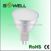 3W MR16 220-240V 3528SMD 50*H53mm Aluminum CE/RoHS LED spot bulbs lighting