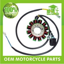 China stator and coil wholesale 6 8 12 pole CG125 motorcycle magneto stator