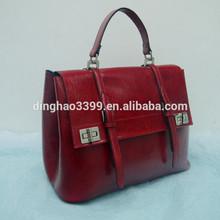 2015 wholesale China newest wholesale exported trendy women leather handbag