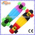 retro de plástico cruiser skateboard