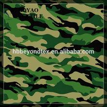printed chiffon military camouflage fabric