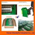 Portable usine 1000kg/h pédaleprix batteuse de riz