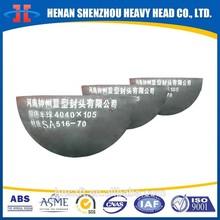 Hot pressing Hemispherical head for pressure vessel