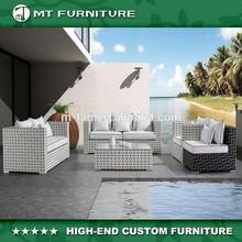 outdoor PE rattan sofa furniture