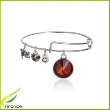 Trendy Bracelet 2015 Wholesale Birthstone Charms Alex and Ani