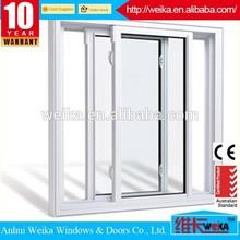White or color profile Newest design aluminium price of sliding window