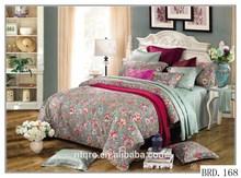 King size nantong bedding sets 100% cotton wedding bedspreads comforter set luxury 3d printed wholesale comforter bedding sets