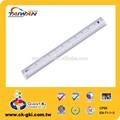 precio más bajo estándar 30cm milímetro de plástico pvc regla