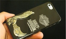 Metal mirror mobile phone shell with wings