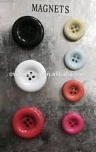 button refrigerator magnet