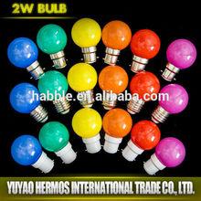 1W led changing color lamp high quality Energy Saving Lighting Bulbs