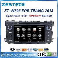 ZESTECH Dashboard Placement and 7'' double din car dvd player for Nissan TEANA gps navigation oem YEAR 2013