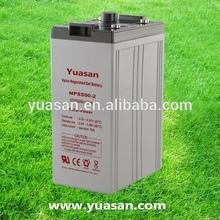 Yuasan Powerful 2V 500AH Rechargeable Deep Cycle VRLA 2V Gel Cell Solar Battery -NPS500-2