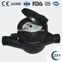 Factory Price Multi Jet Plastic water flow meter, multi jet water meter, plastic water meter