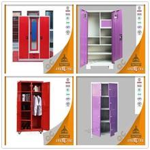 2015 New India wardrobe bedroom design stainless steel cupboard