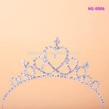Shining bulk princess rhinestone crowns and tiaras