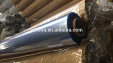 PVC plastic blue film clear bag material