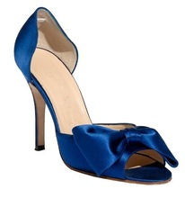 2015 Brand Fashion Satin Bridal Wedding Shoes Lady High Safe Open Toe Pumps Wholesale Women High Heel Shoes