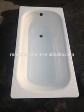 enamel bathtub steel plate bath tub