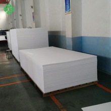 Guarantee full weight PVC Sheet for advertising and furniture