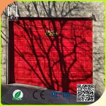 shutters type and horizontal electric car garage door