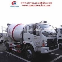 Foton 4000L 4x2 kecil truk mixer beton untuk lebih murah