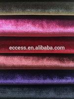 shiny velvet plain fabrics sofa design