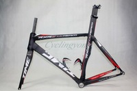 2012 time rxrs carbon road racing bike frame and fork black/label color carbon bicycle frame cheap bicycle carbon track frame