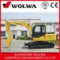 Wolwa de alta calidad sobre orugas hidráulica excavadora dls880-9b