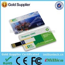 500mb usb flash drive, Business Card USB Disk, Credit Card Usb Flash Drives 128mb to 64gb