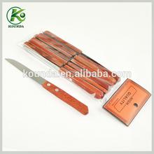 Common design bulk cheap kitchen knife/steak knife